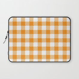 Orange Vichy Laptop Sleeve