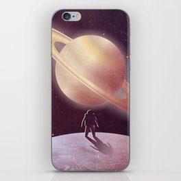 A View From Enceladus iPhone Skin