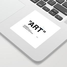 """ART"" Sticker"