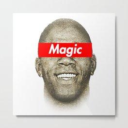 Magic Johnson Metal Print