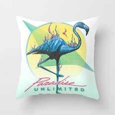 Paradise Unlimited Throw Pillow