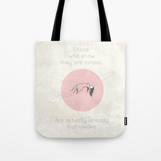 The Insomnia of Heisenberg Tote Bag