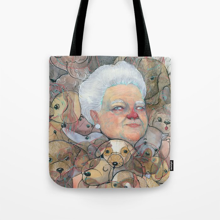 Miss Puppy Tote Bag