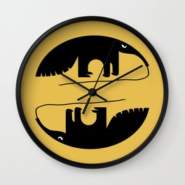 Angry Animals - Anteater Wall Clock