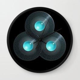 Triple Celt Wall Clock