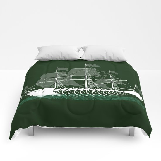 Cutter Fish Comforters
