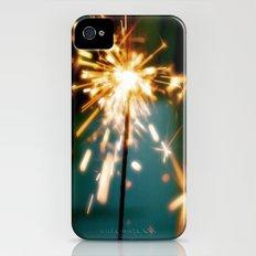 Spark my Heart iPhone (4, 4s) Slim Case