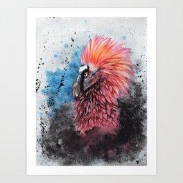 Buzzard Prince Art Print