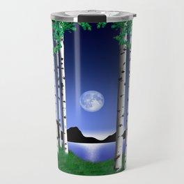 Aspen Blue Moon Spring Day Travel Mug