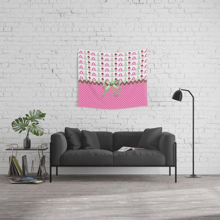 Celebration Princess  Wall Tapestry