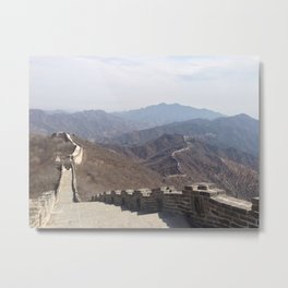 Great Wall II Metal Print