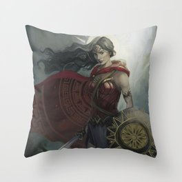 WonderWoman Throw Pillow