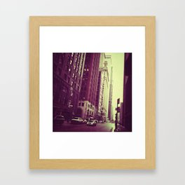 level Framed Art Print