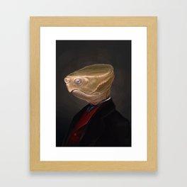 Elegant Beasts: Archibald Framed Art Print