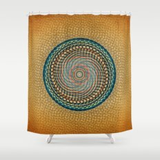 Mesh Mandala Shower Curtain