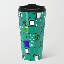 Abstract green Travel Mug