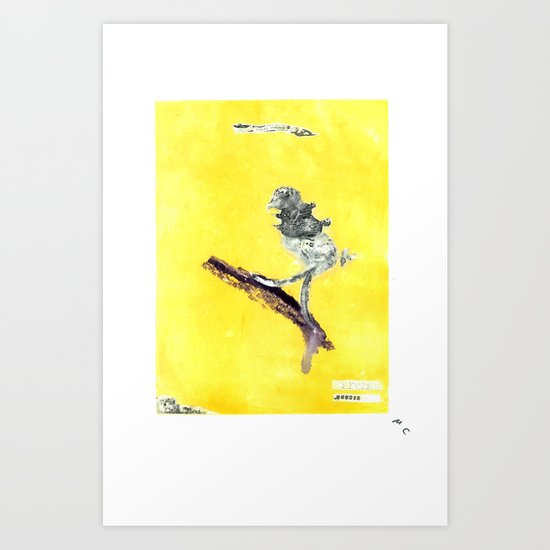 YellaBird | British Second | Art Print