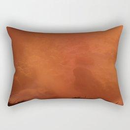 Hazy Niagara Falls Rectangular Pillow