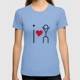 I love you - timeless artwork built of letters T-shirt