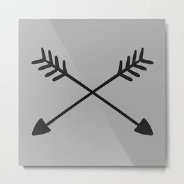 Hand Drawn Arrows Metal Print