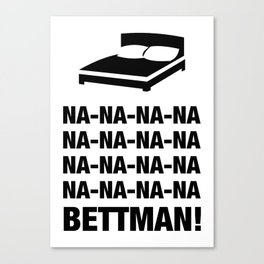 Bettman Canvas Print