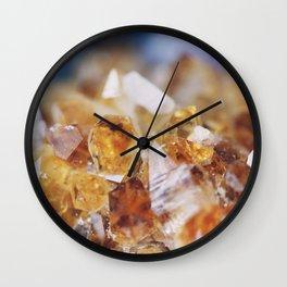 Citrine Light Wall Clock