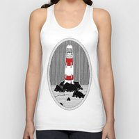 lighthouse Tank Tops featuring Lighthouse by Aidan Meighan