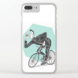 fixed gear Clear iPhone Case
