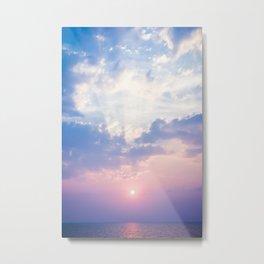pastel skies #society6 #decor #buyart #homedecor Metal Print