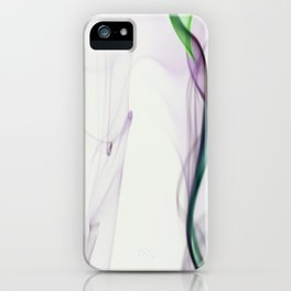 Smoke ribbon iPhone Case