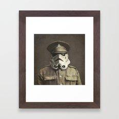 Sgt. Stormley - square format Framed Art Print