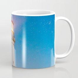 Lighthouse at night Coffee Mug