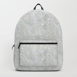 White Apophyllite Close-Up Crystal Backpack