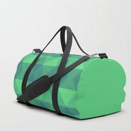 Bright ,green , abstract Duffle Bag