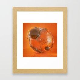 V-HOLE (everyday 05.06.16) Framed Art Print