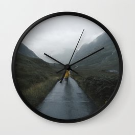 Skyfall - Landscape Photography Wall Clock