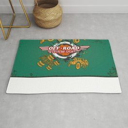 Offroad Extreme Sport Rug
