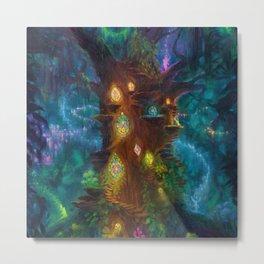 Fairy Dance by Erica Kilbourn Painting Metal Print