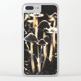 Wild Mushroom's Forest Clear iPhone Case