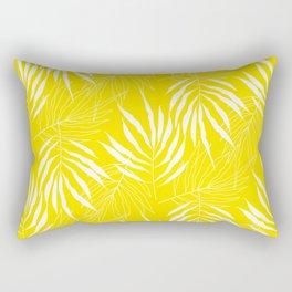 Ash Tree Leaves Scandianvian Pattern Rectangular Pillow