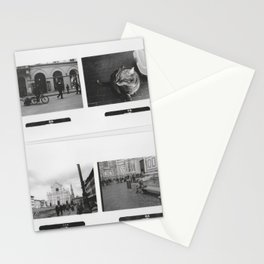 Black and White Memories Stationery Cards