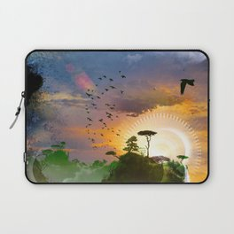The Architect Of Time Laptop Sleeve
