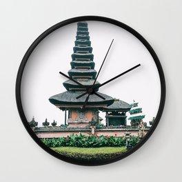 Bali Ulun Danu Temple Wall Clock