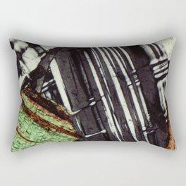 Feldspar and Biotite Rectangular Pillow