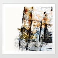 Aphasie II Art Print