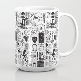 Music Doodles Coffee Mug