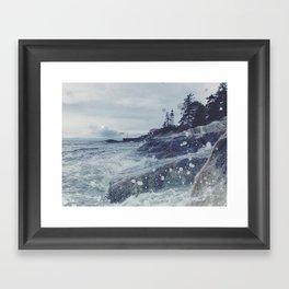 Lighthouse Park Framed Art Print