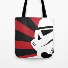 Storm Trooper Portrait Tote Bag