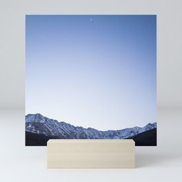 Daylight Moon Ridge Mini Art Print