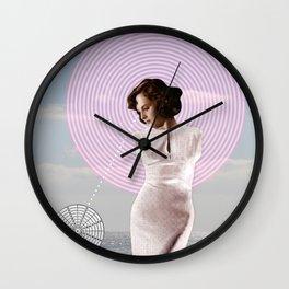 Beach Venus Collage Wall Clock